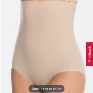 NWOT Spanx Higher Power Panties in Nude